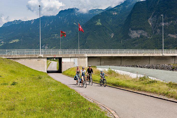 Fotos Rheinradweg