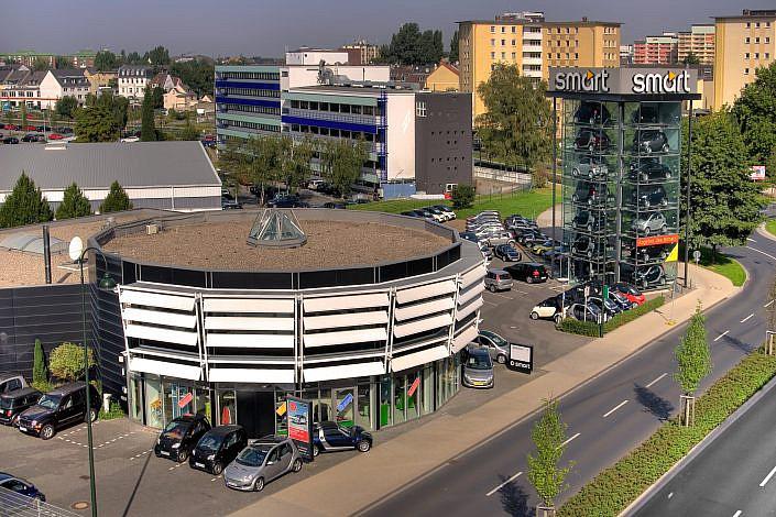 """Smartcenter Leverkusen """" Smartsenter Luftaufnahmen Leverkusen """" Photo taken by Fotograf Patrick Gawandtka"""
