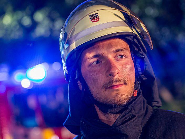 Werbefotos für die Feuerwehr