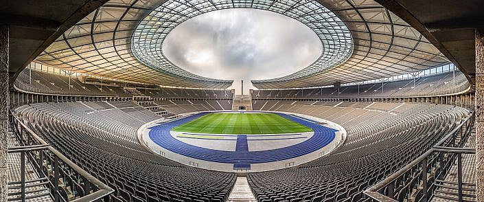 """ Olympiastadion Berlin Panorama "" Photo taken by Fotograf Patrick Gawandtka"