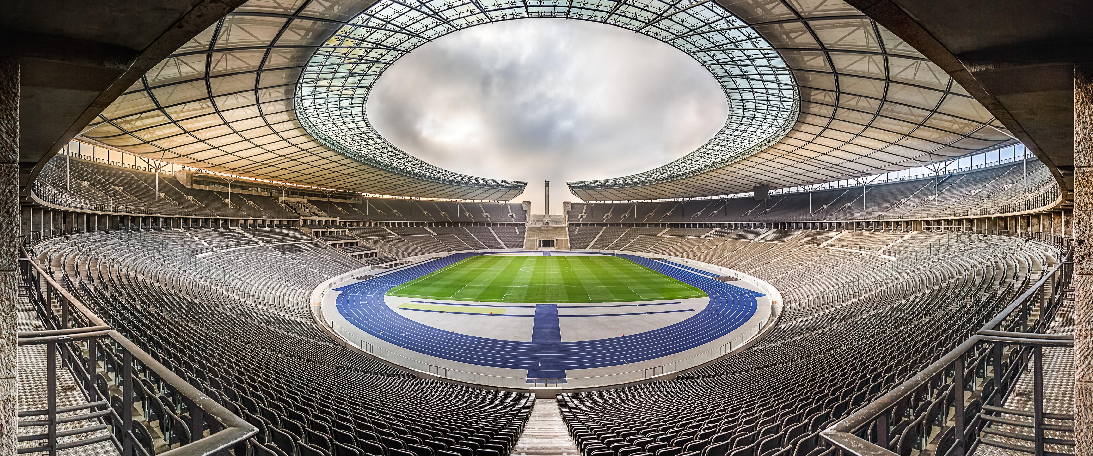 """ Olympiastadion Berlin Panorama "" Photo taken by Fotograf Patrick Gawandtka"