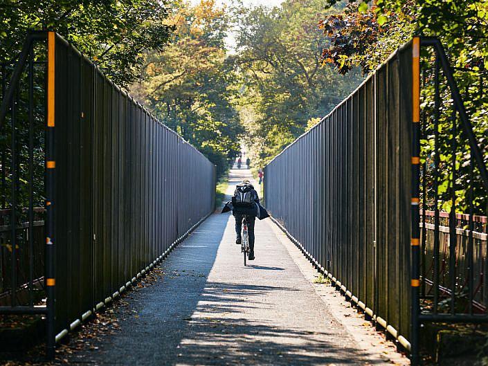 "Niederbergbahn-Bergische-Panorama-Radwege "" EFRE Projektes Bergische Panorama-Radwege "" Photo taken by Fotograf Patrick Gawandtka"