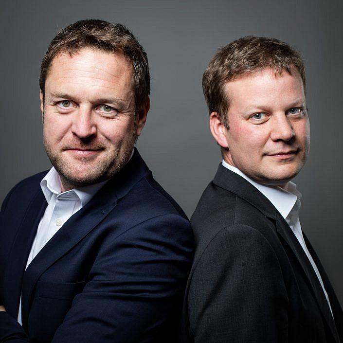 Portrait-von-zwei-Personen